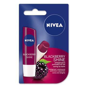 Nivea Lip Care Pomadka ochronna do ust Blackberry Shine 4.8 g