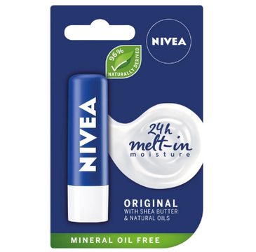 Nivea Lip Care – pomadka ochronna do ust Original Care (4.8g)