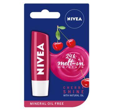 Nivea Lip Care Pomadka ochronna do ust Shine Cherry 4.8 g