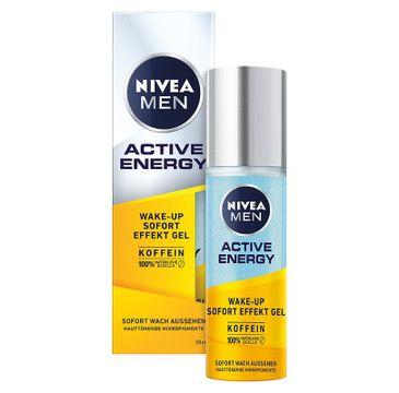 Nivea Men – Active Energy Wake-Up Energetyzujący żel do twarzy (50 ml)