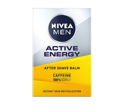 Nivea Men – Energetyzujący balsam po goleniu 2w1 Active Energy (100 ml)