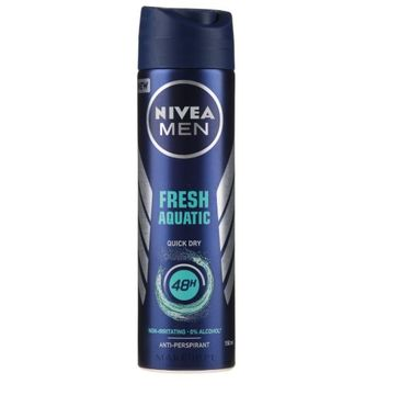 Nivea – Men Fresh Aquatic Anti-Perspirant Spray 48H (150 ml)