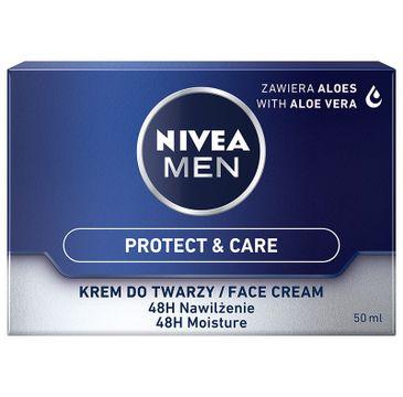 Nivea Men – Nawilżający krem do twarzy Protect & Care  (50 ml)