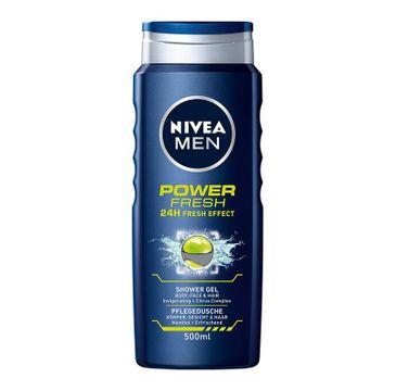 Nivea Men Power Fresh żel pod prysznic odświeżający 500 ml