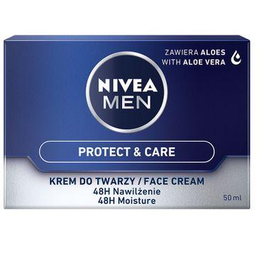 Nivea Men – Protect & Care intensywnie nawilżający krem do twarzy (50 ml)