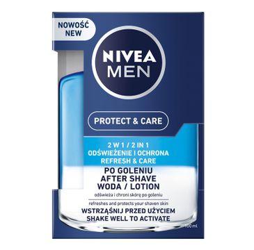 Nivea Men Protect & Care – woda po goleniu 2 w 1 (100ml)