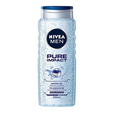 Nivea Men Pure Impact żel pod prysznic męski oczyszczający 500 ml