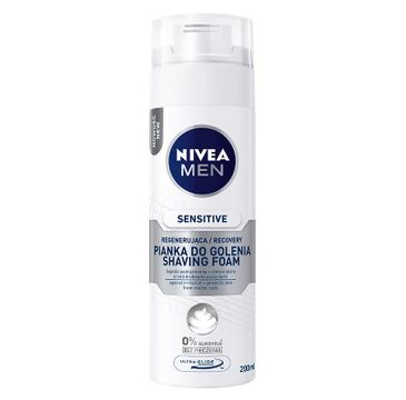 Nivea Men Sensitive pianka do golenia regenerująca 200 ml