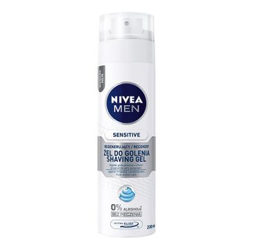 Nivea Men Sensitive żel do golenia regenerujący 200 ml