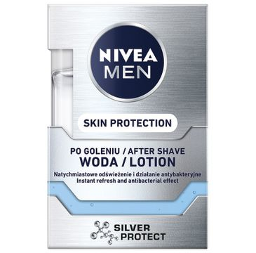 Nivea Men Silver Protect After Shave Lotion – płyn po goleniu (100ml)
