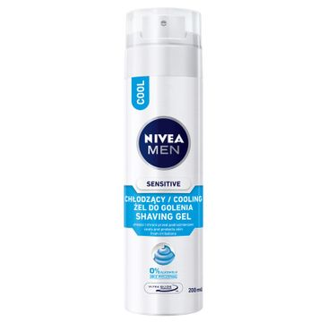 NIVEA MEN Żel do golenia chłodzący Sensitive 200ml