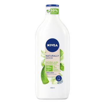 Nivea Naturally Good Body Lotion nawilżający balsam do ciała z aloesem (350 ml)