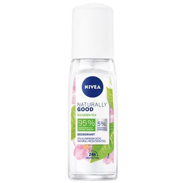 Nivea Naturally Good Deodorant dezodorant Bio Green Tea (75 ml)