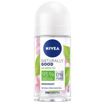 Nivea Naturally Good Deodorant dezodorant  Bio Green Tea roll-on (50 ml)