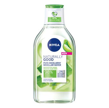 Nivea Naturally Good Micellar Water płyn micelarny z organicznym aloesem (400 ml)