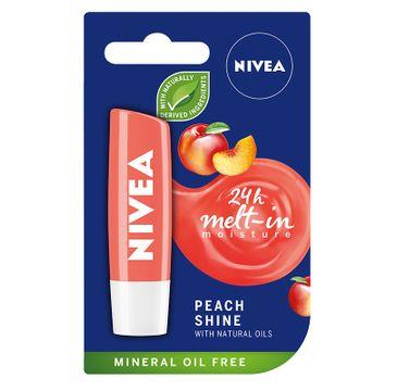 Nivea pomadka ochronna do ust Peach Shine 1 szt.