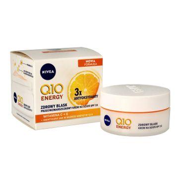 Nivea Q10 Plus C krem przeciwzmarszczkowy energetyzujący na dzień SPF 15 50 ml