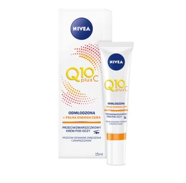 Nivea – Q10 Plus C Krem przeciwzmarszczkowy energetyzujący pod oczy (15 ml)