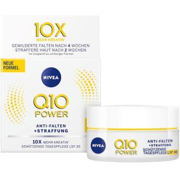 Nivea – Q10 Power przeciwzmarszczkowy nawilżający krem na dzień SPF 30 (50 ml)