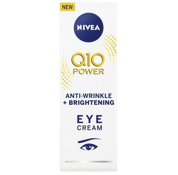Nivea – Q10 Power przeciwzmarszczkowy rozjaśniający krem pod oczy (15 ml)