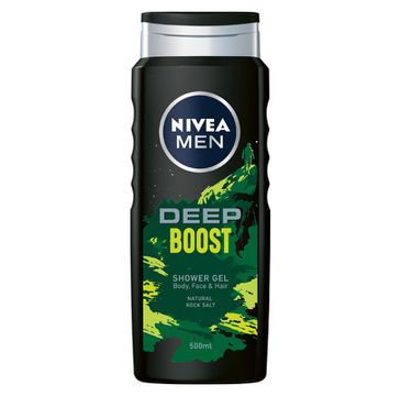 Nivea Men żel pod prysznic Deep Boost (500 ml)