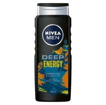 Nivea Men żel pod prysznic Deep Energy (500 ml)