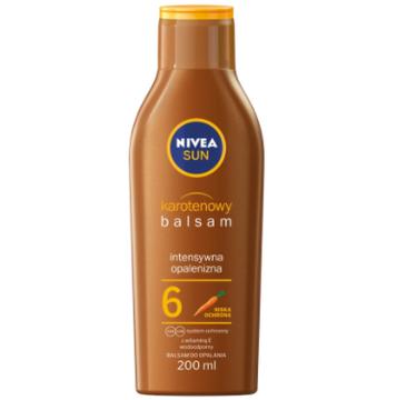 Nivea Sun karotenowy balsam do opalania SPF6 (200 ml)