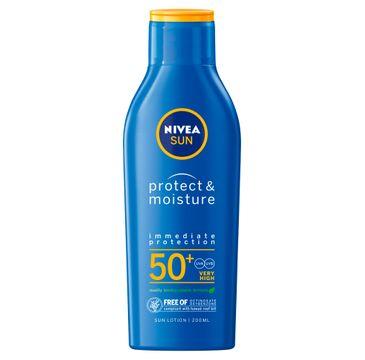 Nivea Sun Protect & Moisture nawilżający balsam do opalania SPF50+ (200 ml)