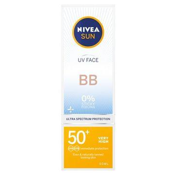 Nivea Sun UV Face nawilżający krem do twarzy BB z bardzo wysoką ochroną SPF50+ (50 ml)
