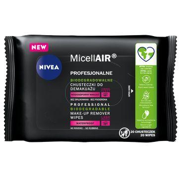 Nivea MicellAir Profesjonalne biodegradowalne chusteczki do demakijażu (20 szt.)