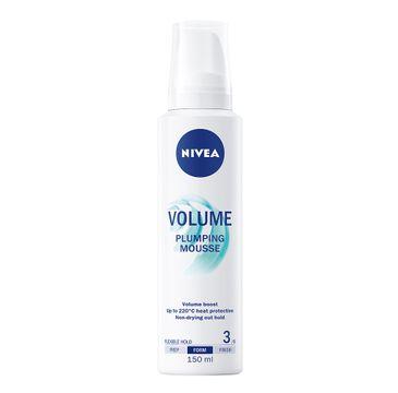 Nivea Volume pianka do włosów dodająca objętości (150 ml)