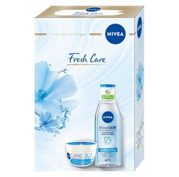 Nivea Zestaw prezentowy Fresh Care krem 3w1 do twarzy 100ml+płyn micelarny n/m 200ml (1 szt.)