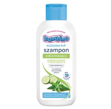 Bambino Rodzina szampon odświeżający do włosów normalnych i przetłuszczających się (400 ml)
