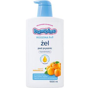 Bambino – Żel pod prysznic o zapachu mirabelki (1000 ml)