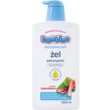 Bambino – Hiperdelikatny żel pod prysznic o zapachu rabarbaru (400 ml)