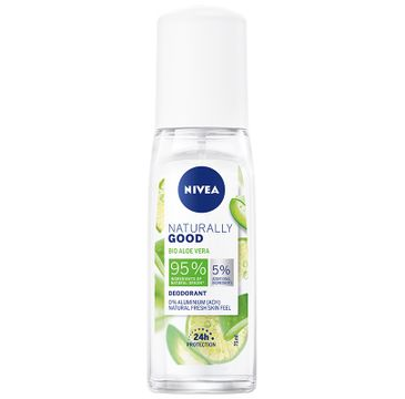 Nivea Naturally Good Deodorant dezodorant Bio Aloe Vera (75 ml)