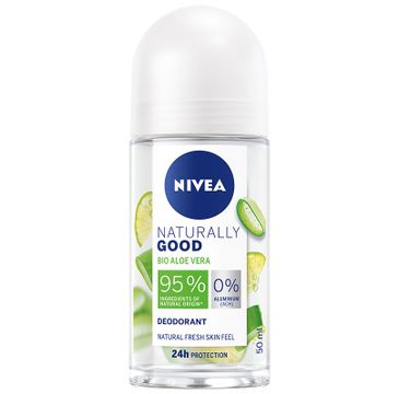 Nivea Naturally Good Roll-on damski Bio Aloe Vera (50 ml)