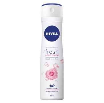 Nivea 鈥� Antyperspirant dla kobiet Fresh Rose Touch Antyperspirant (150 ml)