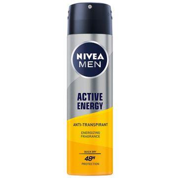 Nivea Men Active Energy antyprespirant w sprayu (150 ml)