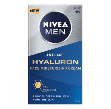 Nivea Men – Hyaluron przeciwzmarszczkowy krem do twarzy (50 ml)