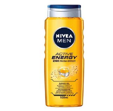 Nivea Men – Żel pod prysznic Active Energy (500 ml)