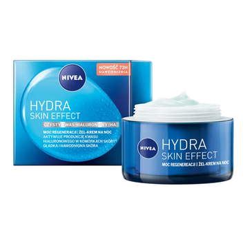 Nivea Hydra Skin Effect Żel-krem na noc (50 ml)