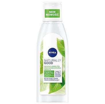 Nivea Naturally Good Cleansing Milk nawilżające mleczko oczyszczające do twarzy (200 ml)