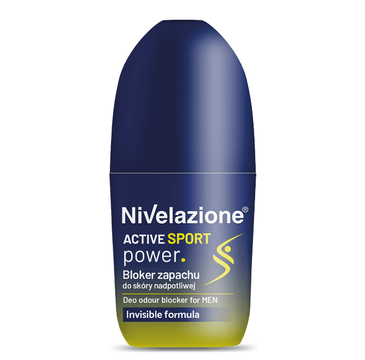 Nivelazione Active Sport Bloker zapachu do skóry nadpotliwej i dla uprawiających sport (50 ml)