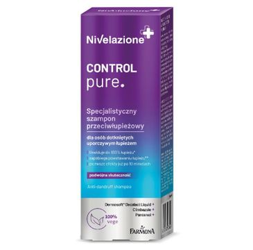 Nivelazione – Specjalistyczny szampon przeciwłupieżowy dla osób dotkniętych uporczywym łupieżem (100 ml)