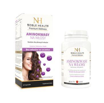 Noble Health Premium Wellness Amino Acids For Hair aminokwasy na włosy 60 kapsułek