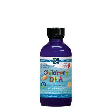 Nordic Naturals Children's DHA Omega-3 525mg suplement diety dla dzieci 237ml