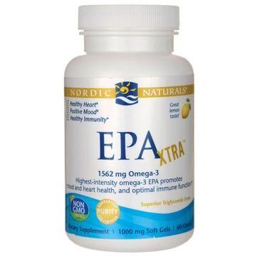 Nordic Naturals EPA Xtra suplement diety o smaku cytrynowym 60 kapsułek