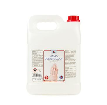 Norenco – Hand Desinfeksjon Preparat antybakteryjny do higienicznej dezynfekcji rąk (5 l)