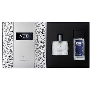 Nou pour Homme Avery zestaw prezentowy dezodorant w szkle 50 ml + woda toaletowa 50 ml